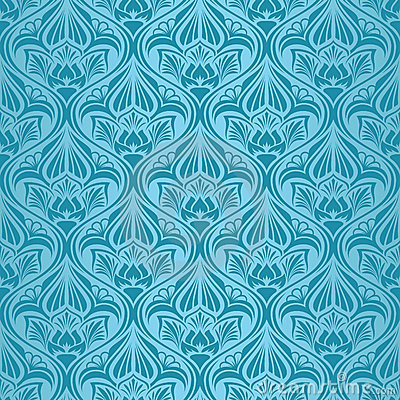 Turquoise seamless wallpaper