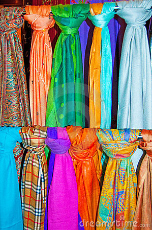 Colourful Scarves 2