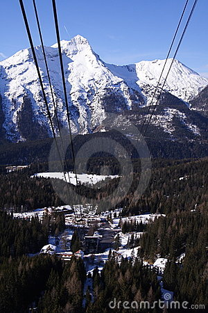 Cable-car to the Zugspitze