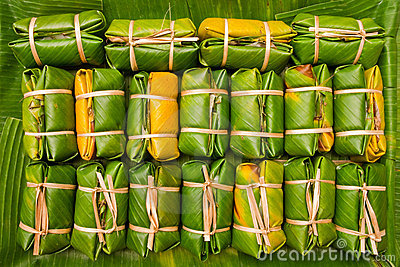 Traditional Thai style dessert