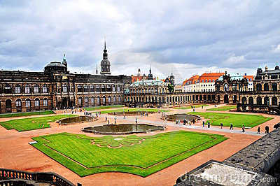 Zwinger galley - museum in Dresden