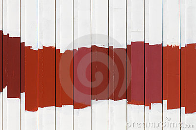 Red Exterior Paint Samples