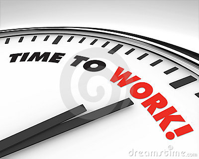 Time to Work - Clock