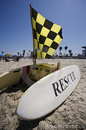 Rescue Surfboard Station