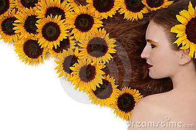 Sunflowers hairstyle