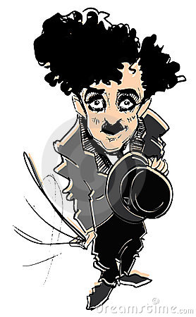 Caricature series: C.Chaplin