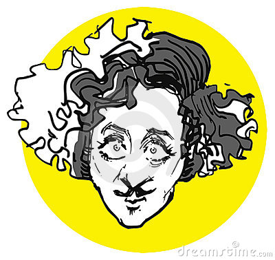 Gene,wilder caricature's