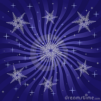 Snowflakes and Burst