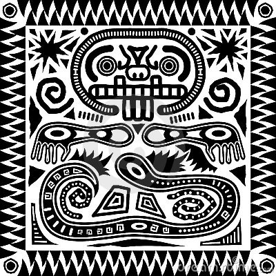 Tribal Aztec Tile