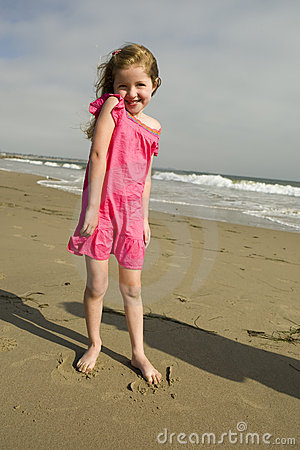Girl at the beach
