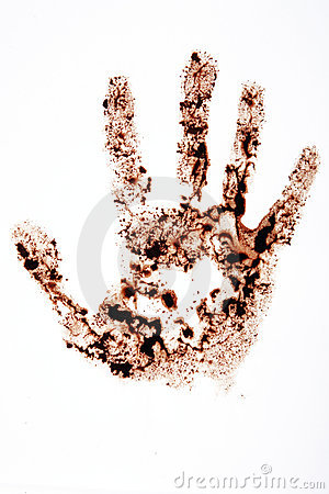 Hand stain