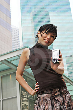 Asian Woman In The City twittering