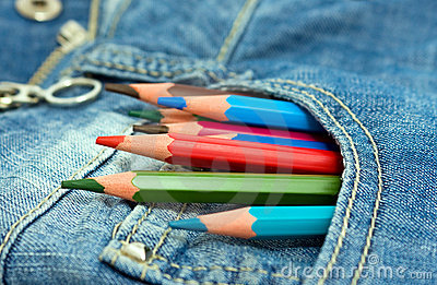 Pencils in the pocket