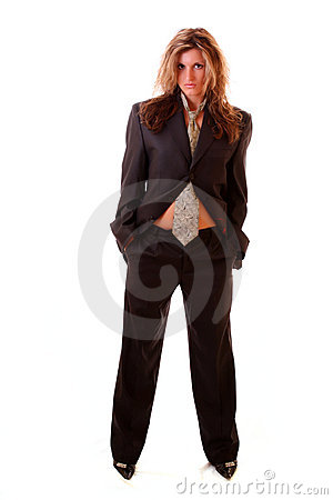 woman in office suite