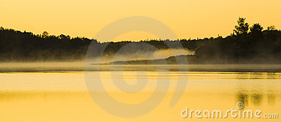 Sunlight on Mist and Water