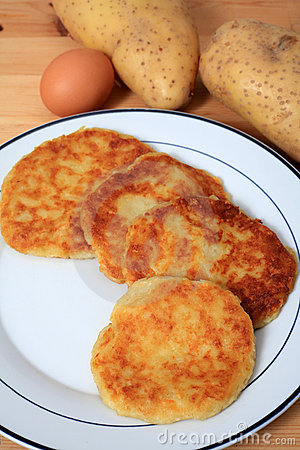 Potato pancakes vertical