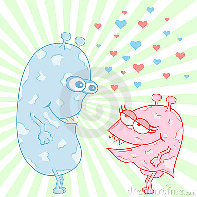 Monster Love Cartoon Characters