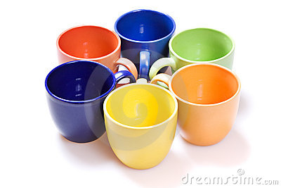 Color cups