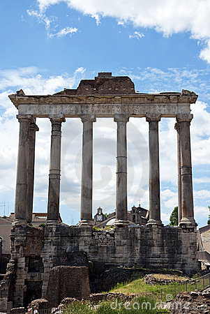 Ancient temple - Rome - Italy