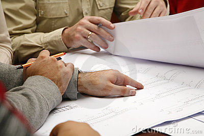 Engineering drawing discussion