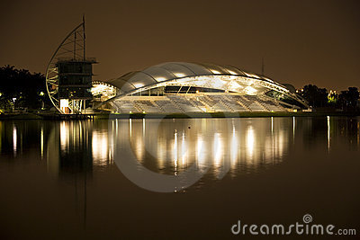 Putrajaya Lakeside Pavillion at Night