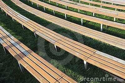 Wooden Long Seats