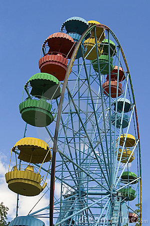 Wheel of review in the park