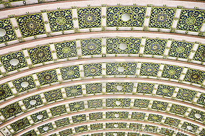 Colorful ceiling