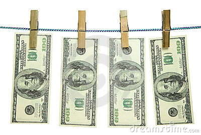 Money on a rope