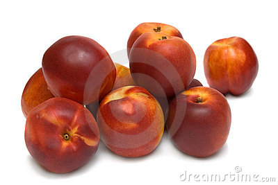 Ten nectarines
