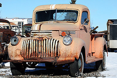 Old, Rusted Truck