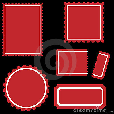Stamp Set - Red