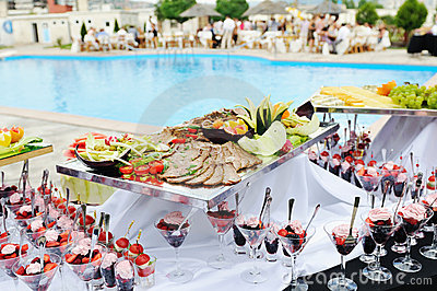 Buffet outdoor
