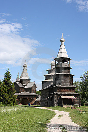 Wooden orthodox churches
