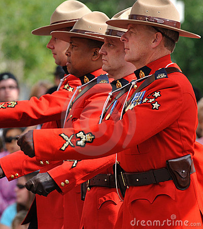 Marching RCMP
