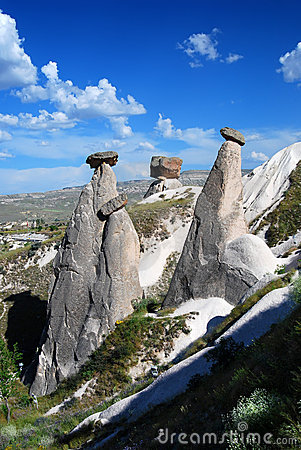 Fairy chimneys Cappadocia (Turkey)