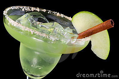 Apple Margarita  - Most popular cocktails series