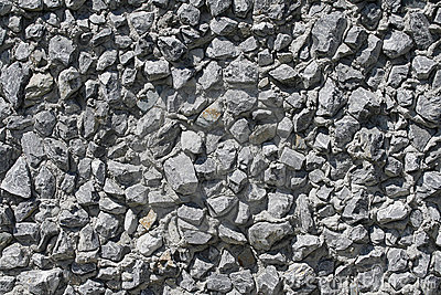 Wall made of stone