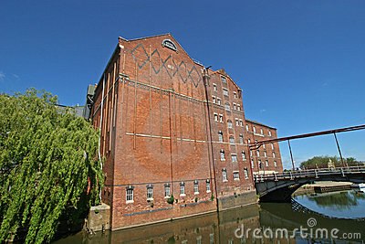 Mill by river Avon