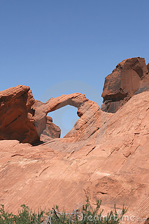 Arch Rock in Valley of Fire, Nevada