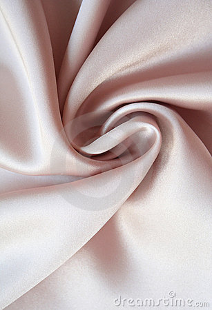 Smooth elegant pink silk as background