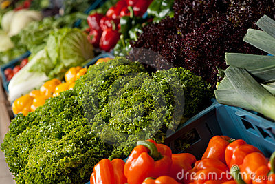 Grocery store - Close-up of vegetable
