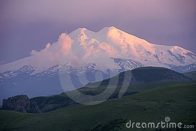 Mountain Elbrus.