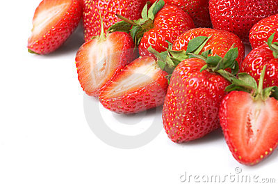 Fresh and tasty strawberries