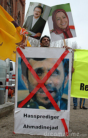 Protestst against Iran