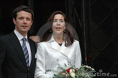 Denish prince Frederik and Mary
