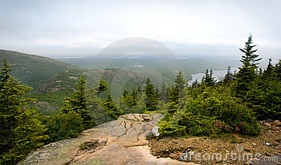 Pemetic Mountain in Acadia National Park