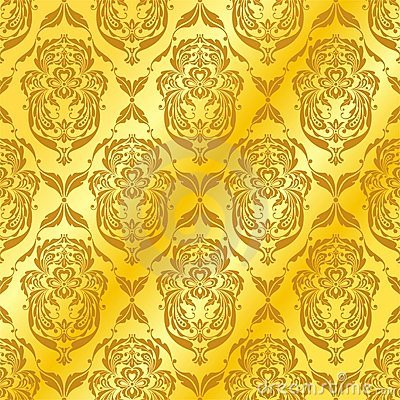 Abstract golden patterns