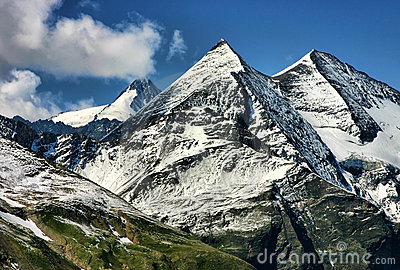 Mountains in the Austrian Alps