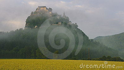Castle in Morning Mist